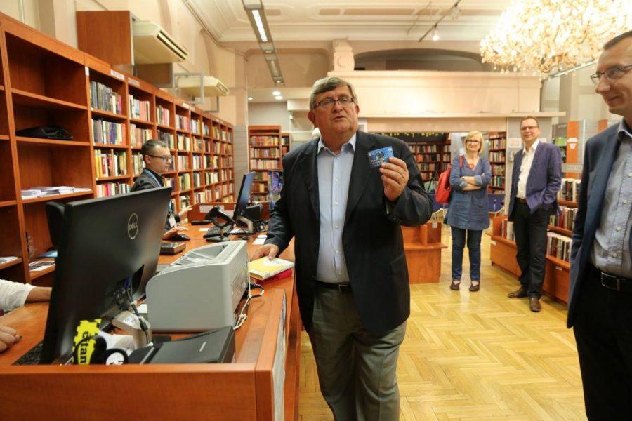 Gradonačelnik Obersnel isprobao novi način korištenja RCC kartice