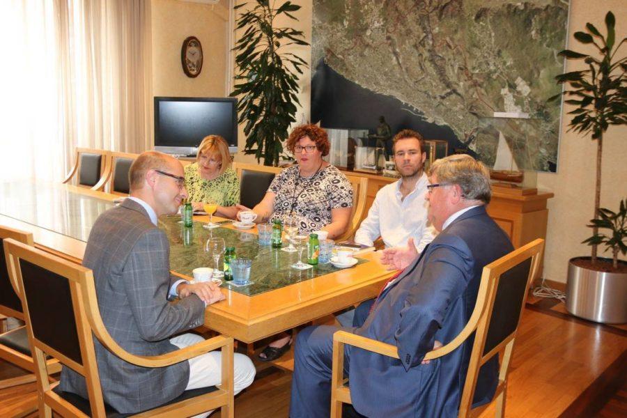 Prijem za zamjenika gradonačelnika Linza