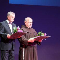 Dobitnici Nagrade Grada Rijeke za životno djelo su prof. dr. sc. Stipan Jonjić i posmrtno, fra Serafin Sabol