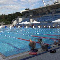 Američka plivačka reprezentacija na Bazenima Kantrida