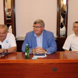 Nikola Ivaniš, Vojko Obersnel i Marko Filipović