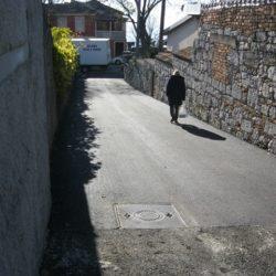 Uređena Lovranska ulica u MO Kantrida