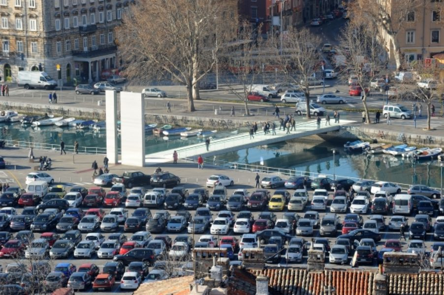 Parkiralište Delta