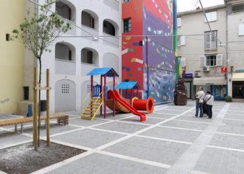 Pavlinski trg i dio Ulice Janeza Trdine