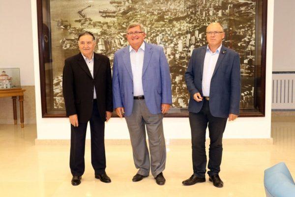 Dinko Tamarut, Vojko Obersnel i Ervin Dubrović