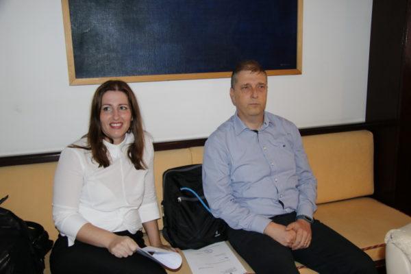 Tina Ragužin i Damir Medved, članovi uprava tvrtki CEKOM Brodogradnja i Smart RI