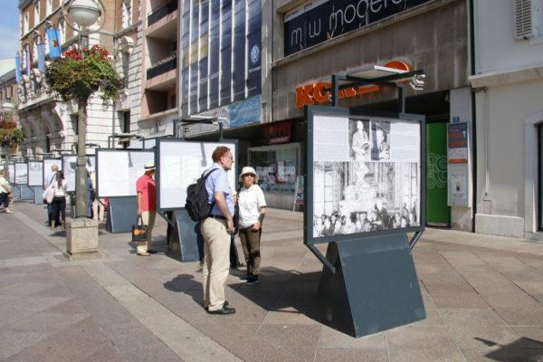 Na Korzu postavljena izložba posvećena Pariškom mirovnom ugovoru