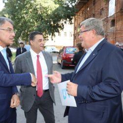 Ministar Capelli, Erik Fabijanić i Vojko Obersnel
