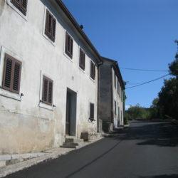 Orlići od kbr.47 prema Područnoj školi Draga