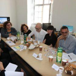 Radni sastanak sa suradnicima koji rade na projektu EPK