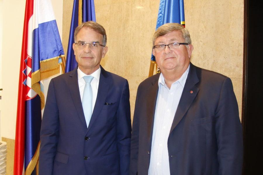 Radni sastanak s ministrom turizma Garijem Cappellijem