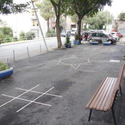 Na novom asfaltu iscrtane društvene igre