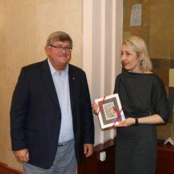 Vojko Obersnel i Ivana Klarić Milas