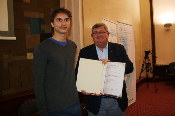"""U kategoriji neobjavljenog rukopisa nagradu je dobio roman """"Krvotok"""" Darka Šeparovića"""