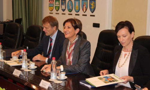 Ministrica Dalić sa suradnicima u posjetu PGŽ-u i Gradu Rijeci