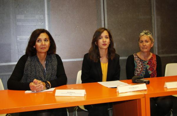 Karla Mušković, Tamara Milovanović i Verena Tibljaš