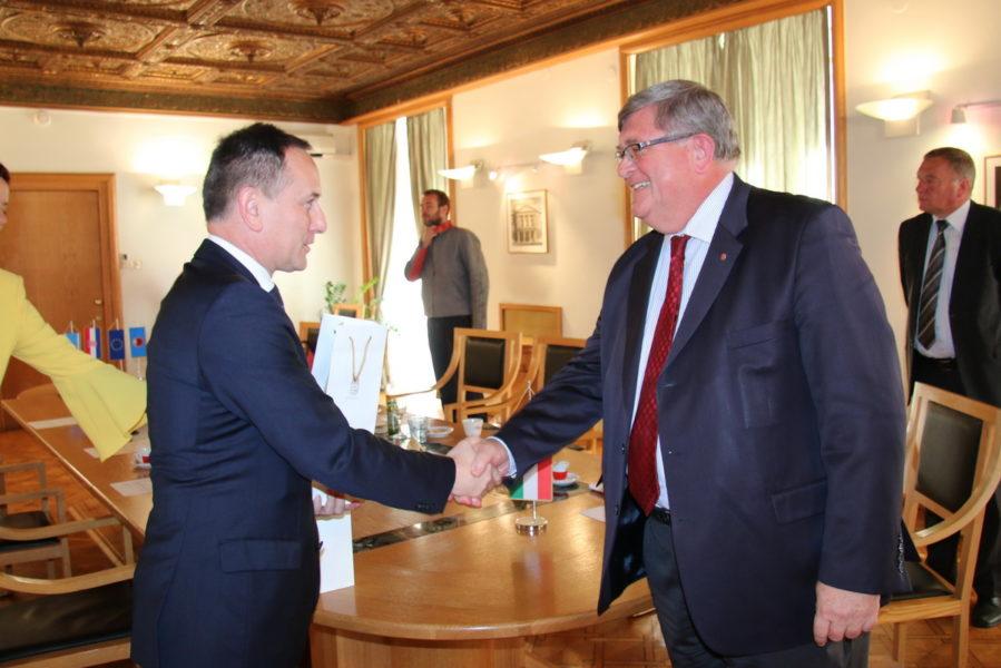 Prijam za mađarskog veleposlanika