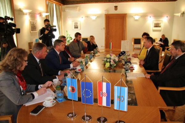 Na prijamu je bilo riječi o nastavku suradnje na gospodarskom i kulturnom planu