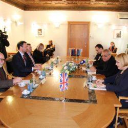 Prijam za britanskog veleposlanika