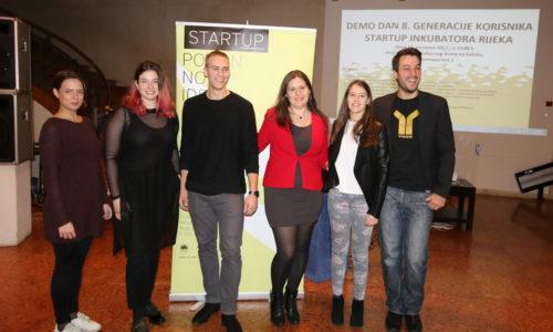 Demo dan Startup inkubatora Rijeka