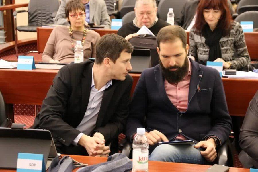 Duško Milovanović i Vojko Braut