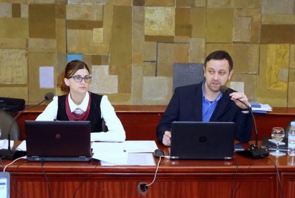Mirna Pavlović Vodinelić i predsjednik Gradskog vijeća Tihomir Čordašev