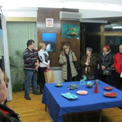 Otvorenje izložbe keramike Udruge Vali
