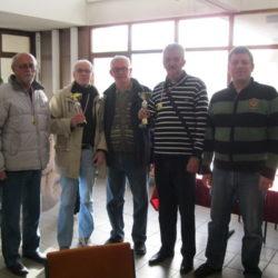 Pobjednici na turnirima u šahu i kartama