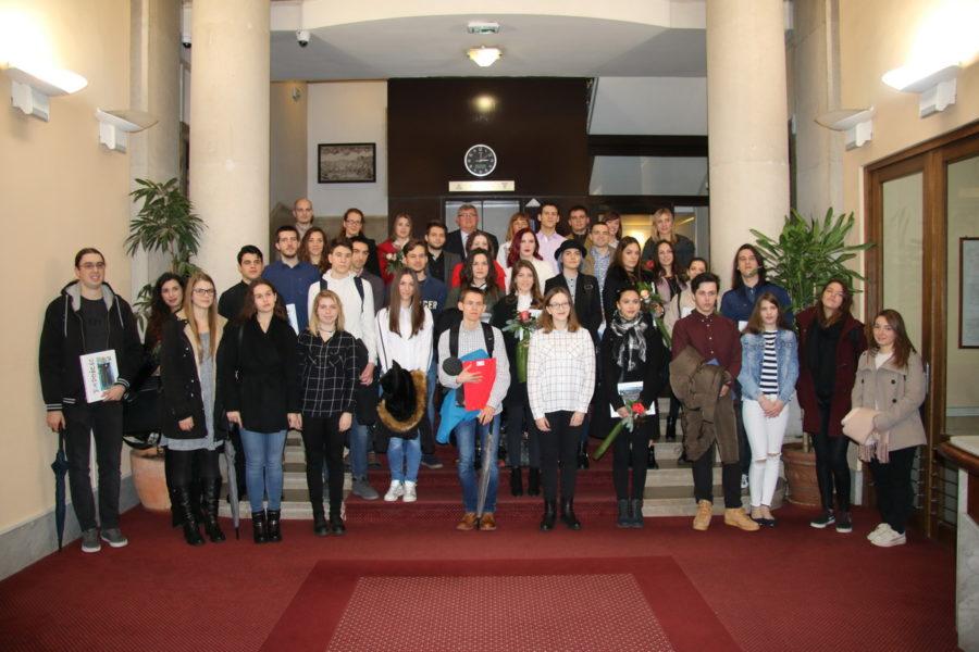 Prijam za dosadašnje i nove stipendiste Grada Rijeke