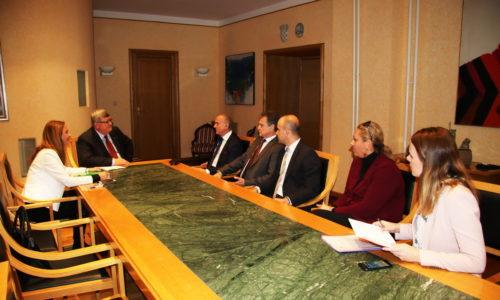 Susret gradonačelnika Obersnela s ministrom Bošnjakovićem
