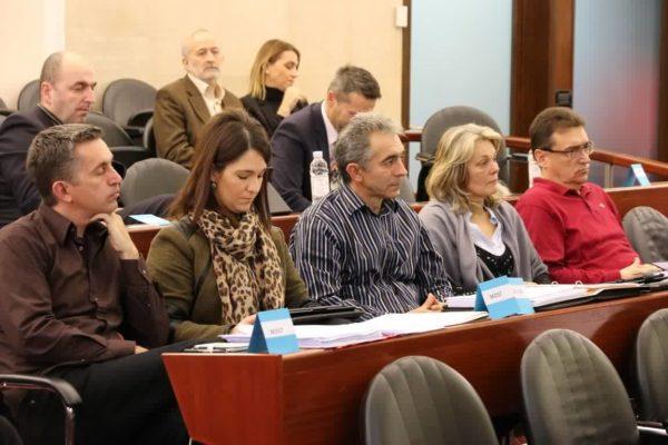 Zvonimir Peranić, Petra Mandić, Veljko Balaban Mirjana Jukić i Damir Popov