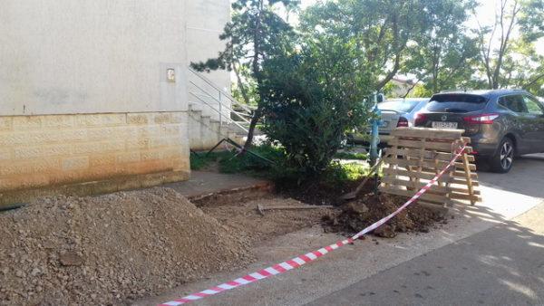MO Škurinjska Draga, izgradnja parkirališta za motore, Rastočine 5