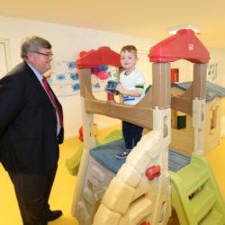 Vrtić je simbolično otvorio gradonačelnik Rijeke Vojko Obersnel