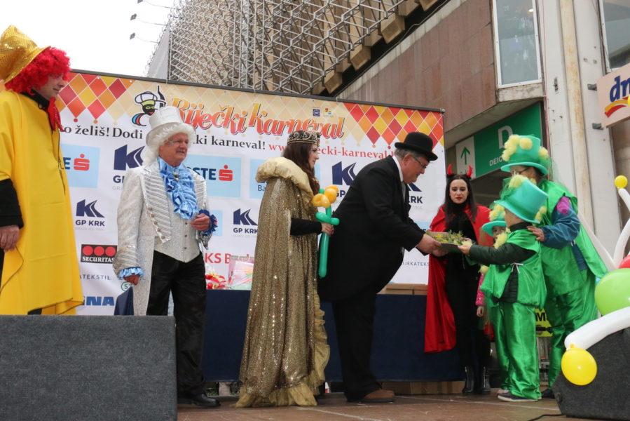 Prijam za sudionike Dječjeg karnevalske skupine