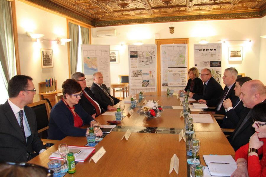 Sastanak gradonačelnika s ministrom Butkovićem