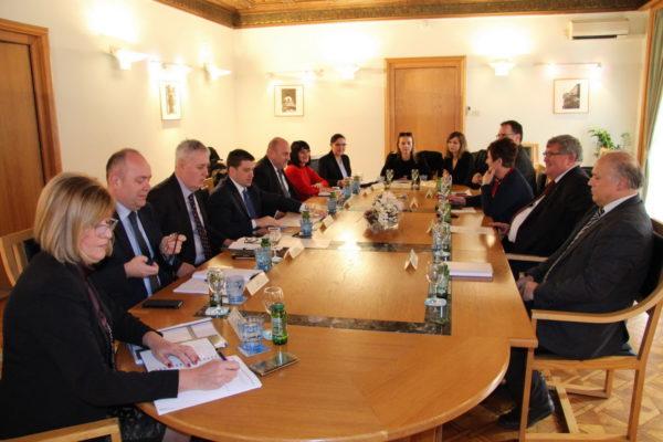 Tema sastanka ubrzanje uređenja Delte i Porto Baroša