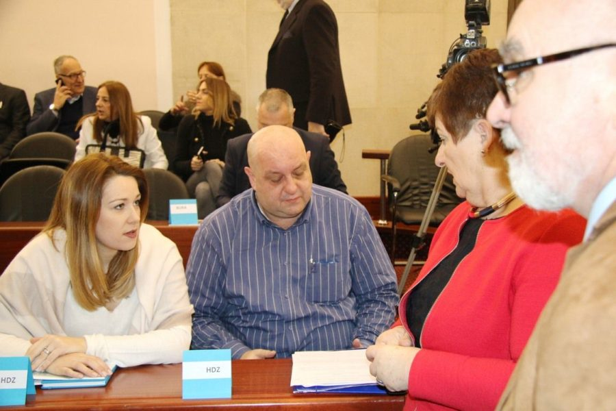 Filipa Capan, Dobrica Rončević i pročelnica Irena Miličević