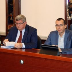Gradonačelnik Vojko Obersnel i zamjenik Marko Filipović