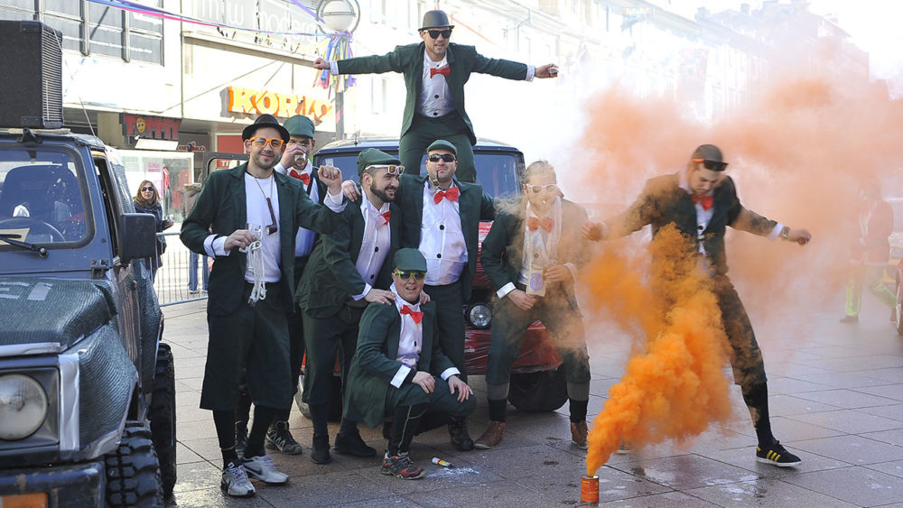 Maškarani auto-rally Pariz-Bakar
