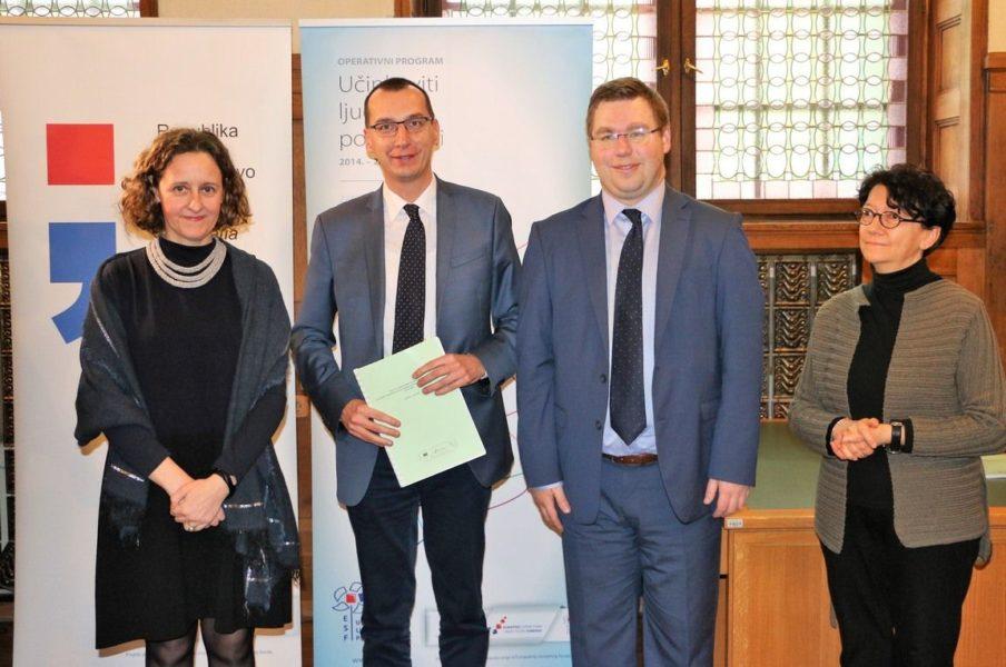 Potpisivanje ugovora o dodjeli bespovratnih sredstava u sklopu poziva na dostavu projektnih prijedloga Umjetnost i kultura za mlade