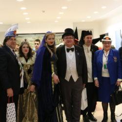 Prijam za gostujuće karnevalske grupe