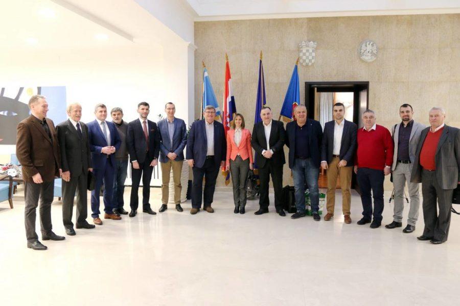 Prijem za delegaciju grada Čačka