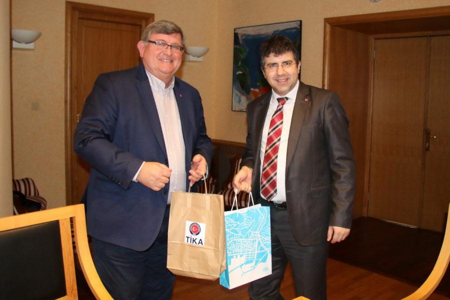 Sastanak s predstavnikom agencije TIKA