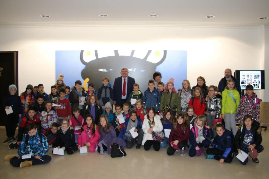 Učenici OŠ Jelenje kod gradonačelnika