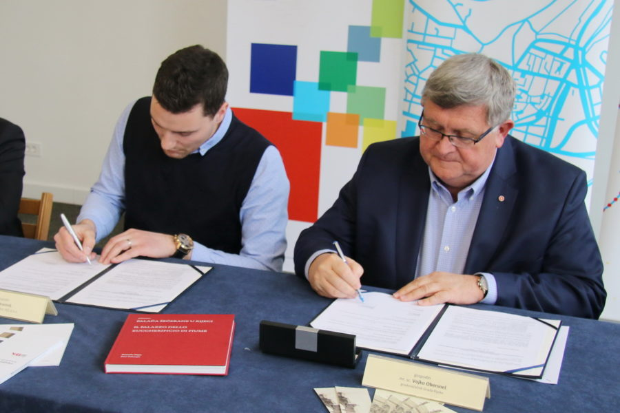 Potpisivanje ugovora za radove na Palači Šećerane