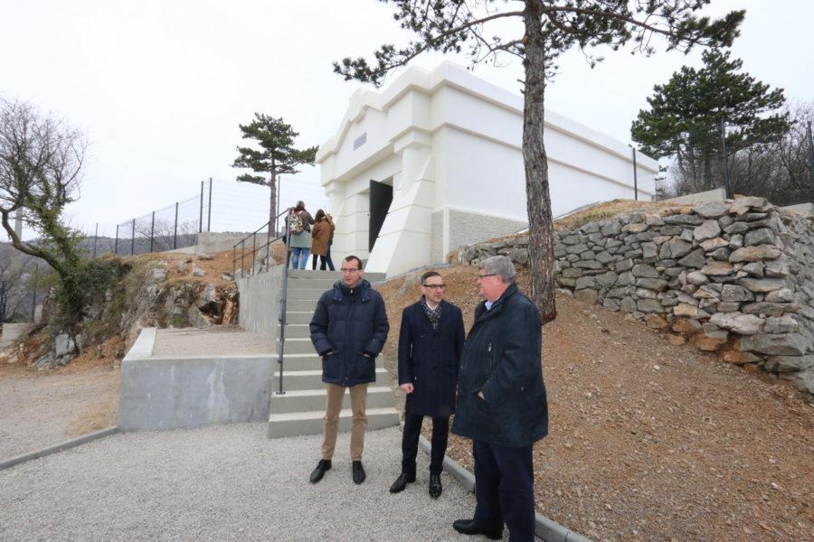 Predstavljena obnovljena vodosprema Sveti Križ