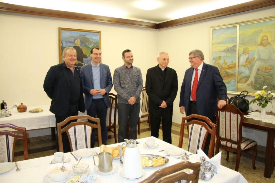 Tradicionalno čestitanje Uskrsa predstavnicima Katoličke crkve