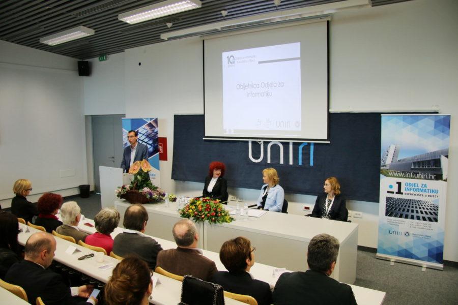 Odjel za informatiku Sveučilišta u Rijeci obilježio 10 godina postojanja