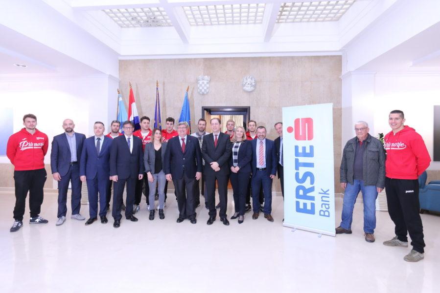 Sprorazum o sponzorskoj suradnji s Erste bankom u 2018. godini