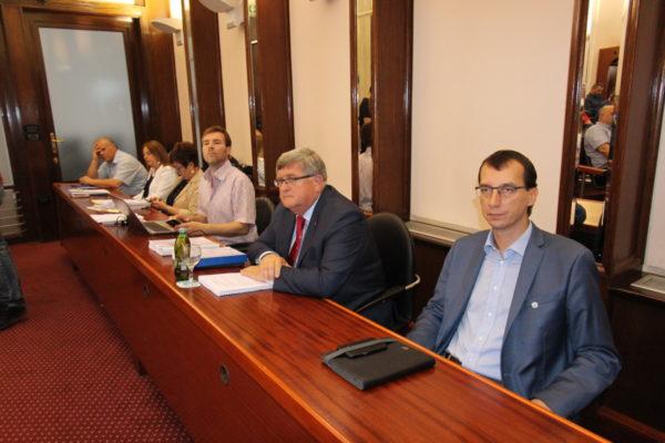 Gradonačelnik Rijeke Vojko Obersnel sa suradncima